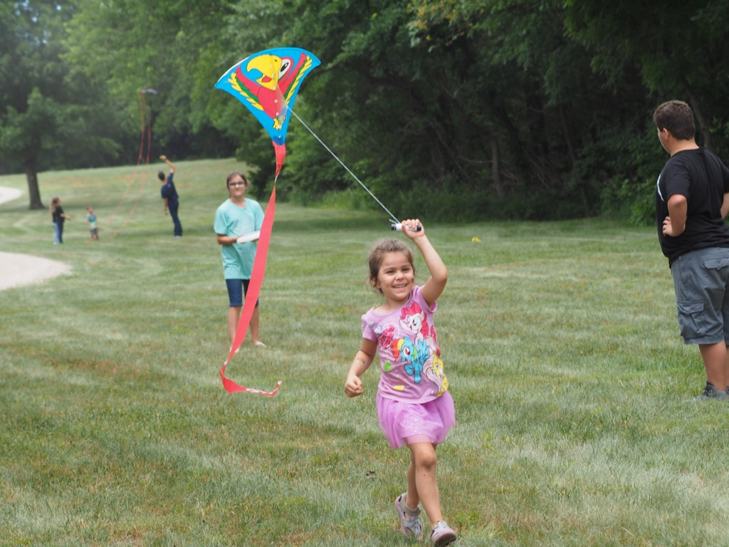 Kite flying fun