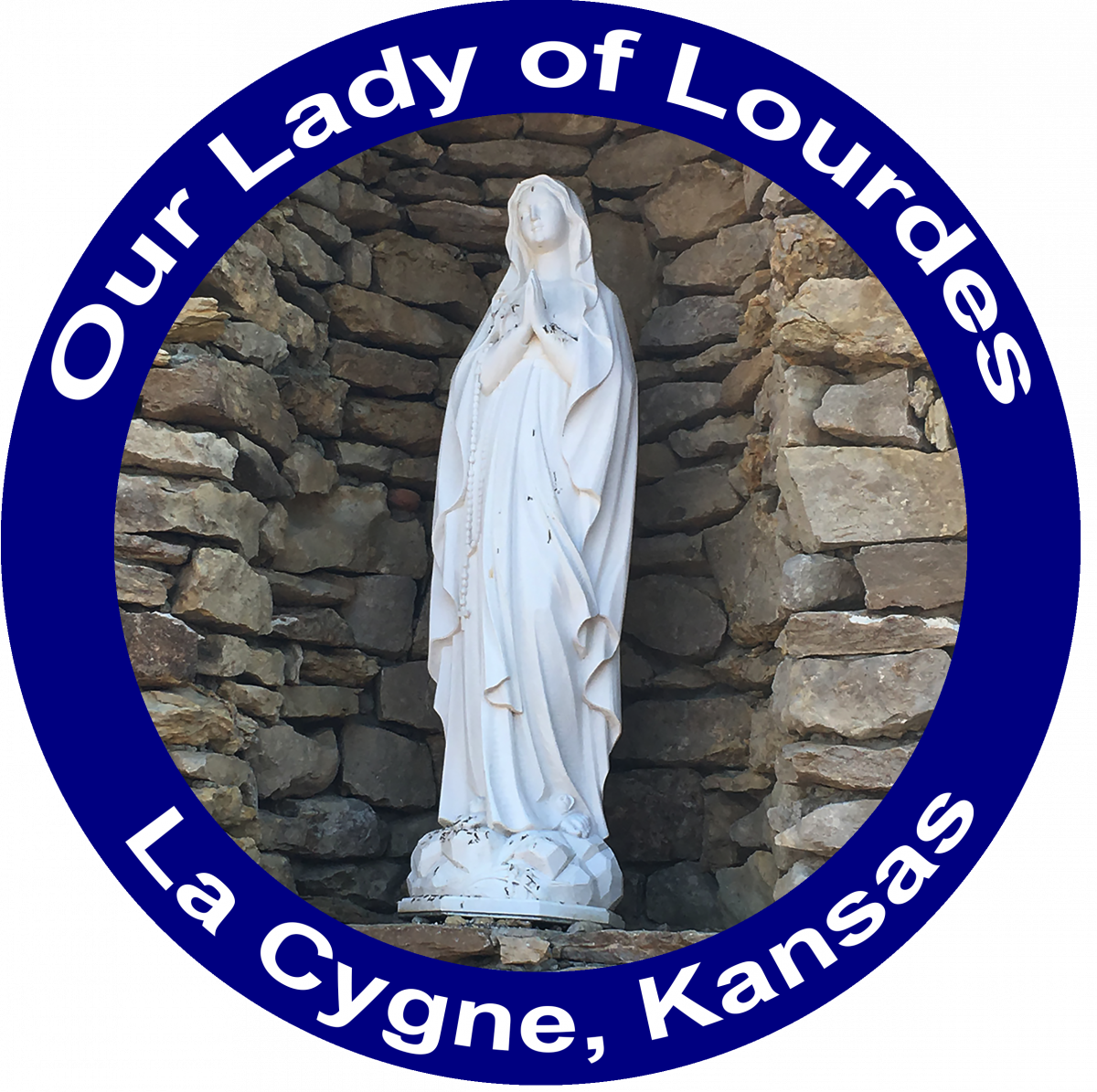 Our Lady of Lourdes Catholic Church in La Cygne Kansas